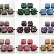 5Pcs-Crystal-Glass-Rhinestones-Pave-Flat-Square-Bracelet-Connector-Charm-Beads-261299309673-4