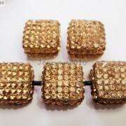5Pcs-Crystal-Glass-Rhinestones-Pave-Flat-Square-Bracelet-Connector-Charm-Beads-261299309673-c002