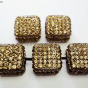 5Pcs-Crystal-Glass-Rhinestones-Pave-Flat-Square-Bracelet-Connector-Charm-Beads-261299309673-eb5d