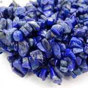 5mm-x-8mm-Natural-Lapis-Lazuli-Gemstone-Chip-Nugget-Loose-Beads-35-Strand-370816439198-2