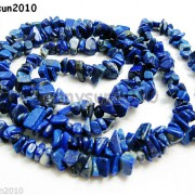 5mm-x-8mm-Natural-Lapis-Lazuli-Gemstone-Chip-Nugget-Loose-Beads-35-Strand-370816439198-7