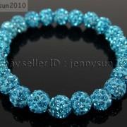 8mm-Czech-Crystal-Rhinestones-Pave-Clay-Round-Disco-Beads-Stretchy-Bracelet-281880718287-2d25