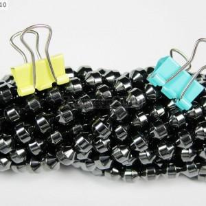 AAA-Healing-Natural-MAGNETIC-Hematite-Gemstone-Lantern-Loose-Beads-16-4mm-6mm-261334103868