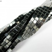 AAA-Healing-Natural-MAGNETIC-Hematite-Gemstone-Square-Cube-Beads-16-3mm-4mm-370963625696-2