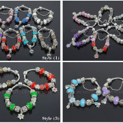 Big-Hole-Crystal-Charm-Beads-Fit-European-Charms-Bracelet-Jewerly-Chain-Silver-282113699406-3