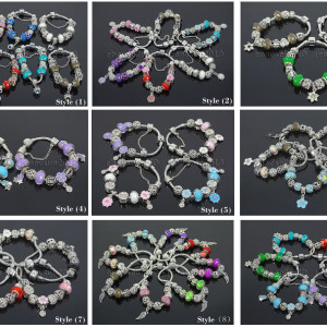 Big-Hole-Crystal-Charm-Beads-Fit-European-Charms-Bracelet-Jewerly-Chain-Silver-282113699406