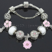 Big-Hole-Crystal-Charm-Beads-Fit-European-Charms-Bracelet-Jewerly-Chain-Silver-282113699406-307a