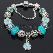 Big-Hole-Crystal-Charm-Beads-Fit-European-Charms-Bracelet-Jewerly-Chain-Silver-282113699406-33de