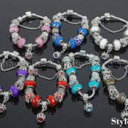 Big-Hole-Crystal-Charm-Beads-Fit-European-Charms-Bracelet-Jewerly-Chain-Silver-282113699406-4