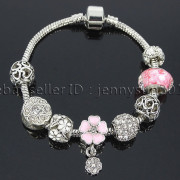 Big-Hole-Crystal-Charm-Beads-Fit-European-Charms-Bracelet-Jewerly-Chain-Silver-282113699406-5a1b
