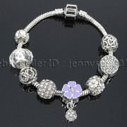 Big-Hole-Crystal-Charm-Beads-Fit-European-Charms-Bracelet-Jewerly-Chain-Silver-282113699406-5cd5