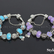 Big-Hole-Crystal-Charm-Beads-Fit-European-Charms-Bracelet-Jewerly-Chain-Silver-282113699406-7