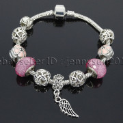 Big-Hole-Crystal-Charm-Beads-Fit-European-Charms-Bracelet-Jewerly-Chain-Silver-282113699406-b0b8
