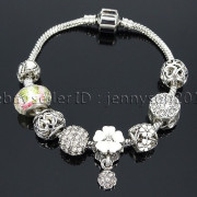 Big-Hole-Crystal-Charm-Beads-Fit-European-Charms-Bracelet-Jewerly-Chain-Silver-282113699406-eaba