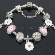 Big-Hole-Crystal-Charm-Beads-Fit-European-Charms-Bracelet-Jewerly-Chain-Silver-282113699406-f42a