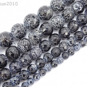 Black-Fire-Crackle-Agate-Gemstones-Faceted-Round-Beads-145-6mm-8mm-10mm-12mm-262198147802