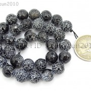 Black-Fire-Crackle-Agate-Gemstones-Faceted-Round-Beads-145quot-6mm-8mm-10mm-12mm-262198147802-5b96