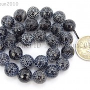 Black-Fire-Crackle-Agate-Gemstones-Faceted-Round-Beads-145quot-6mm-8mm-10mm-12mm-262198147802-f66b