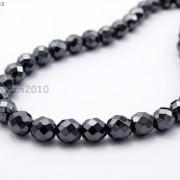 Black-Hematite-Gemstone-Faceted-Round-Beads-155-2mm-3mm-4mm-6mm-8mm-10mm-12mm-261614836509-7