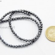 Black-Hematite-Gemstone-Faceted-Round-Beads-155039039-2mm-3mm-4mm-6mm-8mm-10mm-12mm-261614836509-0c0b