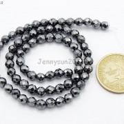 Black-Hematite-Gemstone-Faceted-Round-Beads-155039039-2mm-3mm-4mm-6mm-8mm-10mm-12mm-261614836509-8baf