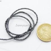 Black-Hematite-Gemstone-Faceted-Round-Beads-155039039-2mm-3mm-4mm-6mm-8mm-10mm-12mm-261614836509-fd92