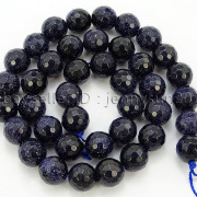 Blue-Sand-Stone-Gemstone-Faceted-Round-Spacer-Loose-Beads-15039039-8mm-10mm-12mm-371774314046-8001
