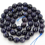 Blue-Sand-Stone-Gemstone-Faceted-Round-Spacer-Loose-Beads-15039039-8mm-10mm-12mm-371774314046-800c