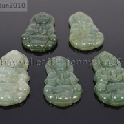 Chinese-Grade-A-Natural-Nephrite-Jade-Gemstone-Carved-Spacer-Charm-Pendant-Beads-262193072783-338b