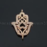 Clear-Zircon-Gemstones-Pave-Lucky-Eye-Hamsa-Hand-Bracelet-Connector-Charm-Beads-371825851684-2306
