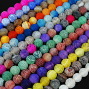 Colorful-Matte-Fire-Crackle-Agate-Gemstones-Round-Beads-15-4mm-6mm-8mm-10mm-371648721329-3