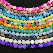 Colorful-Matte-Fire-Crackle-Agate-Gemstones-Round-Beads-15-4mm-6mm-8mm-10mm-371648721329-5