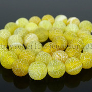 Colorful-Matte-Fire-Crackle-Agate-Gemstones-Round-Beads-15quot-4mm-6mm-8mm-10mm-371648721329-9417