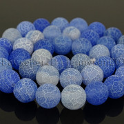 Colorful-Matte-Fire-Crackle-Agate-Gemstones-Round-Beads-15quot-4mm-6mm-8mm-10mm-371648721329-9e99