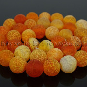 Colorful-Matte-Fire-Crackle-Agate-Gemstones-Round-Beads-15quot-4mm-6mm-8mm-10mm-371648721329-c6ba