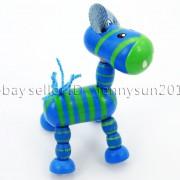 Colorful-Zebra-Wood-Pendant-Charm-Beads-Toy-28mm-x-30mm-Lead-Free-Environmental-282035904299-d0c7