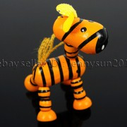 Colorful-Zebra-Wood-Pendant-Charm-Beads-Toy-28mm-x-30mm-Lead-Free-Environmental-282035904299-d549