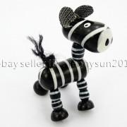 Colorful-Zebra-Wood-Pendant-Charm-Beads-Toy-28mm-x-30mm-Lead-Free-Environmental-282035904299-eb78