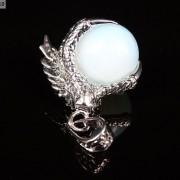 Crystal-Rhinestone-Dragon-Claw-Gemstone-Round-Reiki-Chakra-Healing-Pendant-Bead-281425678023-7