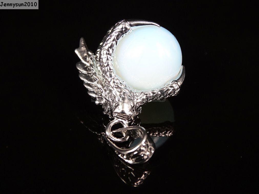 Crystal Rhinestone Dragon Claw Gemstone Round Reiki Chakra