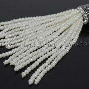 Czech-Glass-Pearl-Round-Beads-Tassel-Trim-Applique-Jewelry-Design-Pendant-10cm-262456459225-10a6