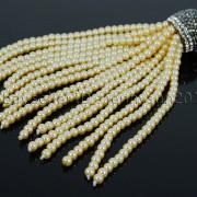 Czech-Glass-Pearl-Round-Beads-Tassel-Trim-Applique-Jewelry-Design-Pendant-10cm-262456459225-115a