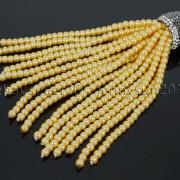 Czech-Glass-Pearl-Round-Beads-Tassel-Trim-Applique-Jewelry-Design-Pendant-10cm-262456459225-acca