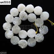Druzy-Quartz-Agate-Side-Drilled-Flat-Back-Connector-Cabochon-Round-Beads-10mm-261157506509-0b28