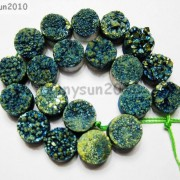 Druzy-Quartz-Agate-Side-Drilled-Flat-Back-Connector-Cabochon-Round-Beads-10mm-261157506509-4b9f