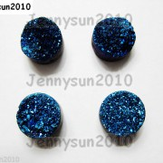 Druzy-Quartz-Agate-Side-Drilled-Flat-Back-Connector-Cabochon-Round-Beads-10mm-261157506509-8c27