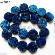 Druzy-Quartz-Agate-Side-Drilled-Flat-Back-Connector-Cabochon-Round-Beads-10mm-261157506509-fd37