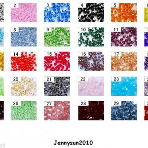 Freeshipping-100Pcs-Top-Quality-Czech-Crystal-Faceted-Bicone-Beads-4mm-Pick-250910532534