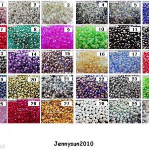 Freeshipping-100Pcs-Top-Quality-Czech-Crystal-Faceted-Rondelle-Beads-3x-4mm-Pick-260877839281