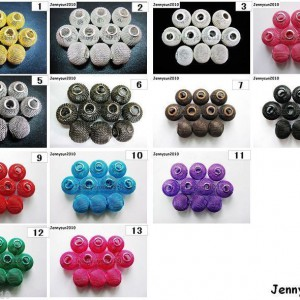 Freeshipping-20pcs-Large-Mesh-Bling-Rondelle-Ball-Beads-Pick-your-Colors-Sizes-260978759876